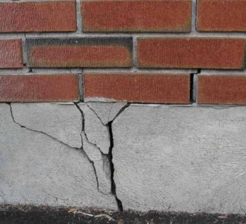 Foundation Repair, Cracked Foundation