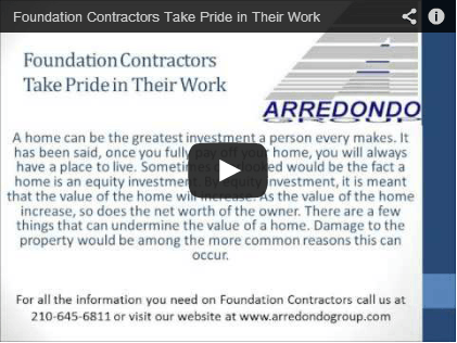 Foundation Contractors Take Pride in Their Work