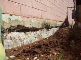 cracked foundation repair, house leveling