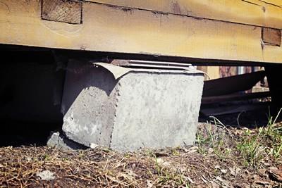 foundation problems, house leveling